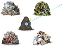 Container für alle Abfälle mieten