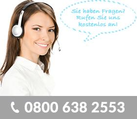 Kostenlose Hotline von Schrott.de