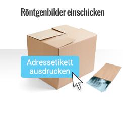 Röntgenbilder per Post einschicken