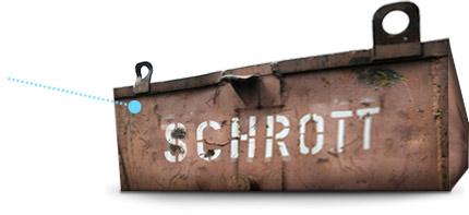 Schrottcontainer kostenlos bundesweit