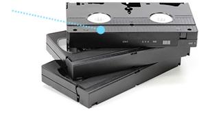 VHS Magnetbänder entsorgen
